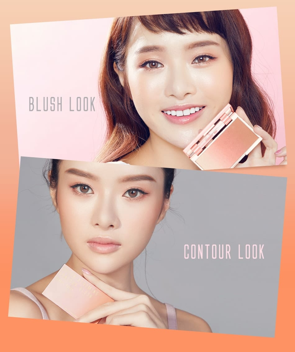 BeautyMaker Color Blooming Contour Blush - looks