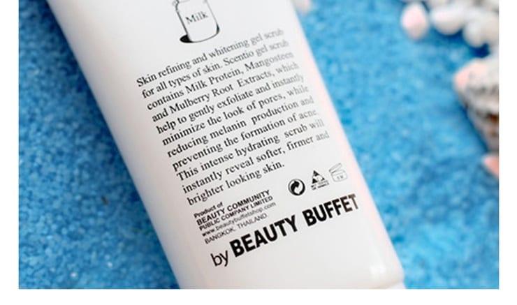 Beauty Buffet Milk Plus Skin Refining & Whitening Scrub - product image