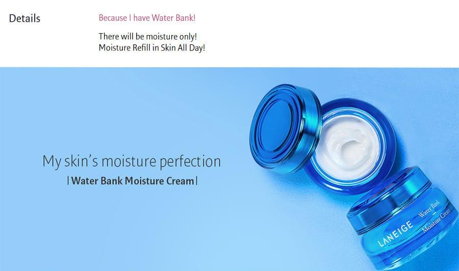 Water Bank Moisture Cream - Details