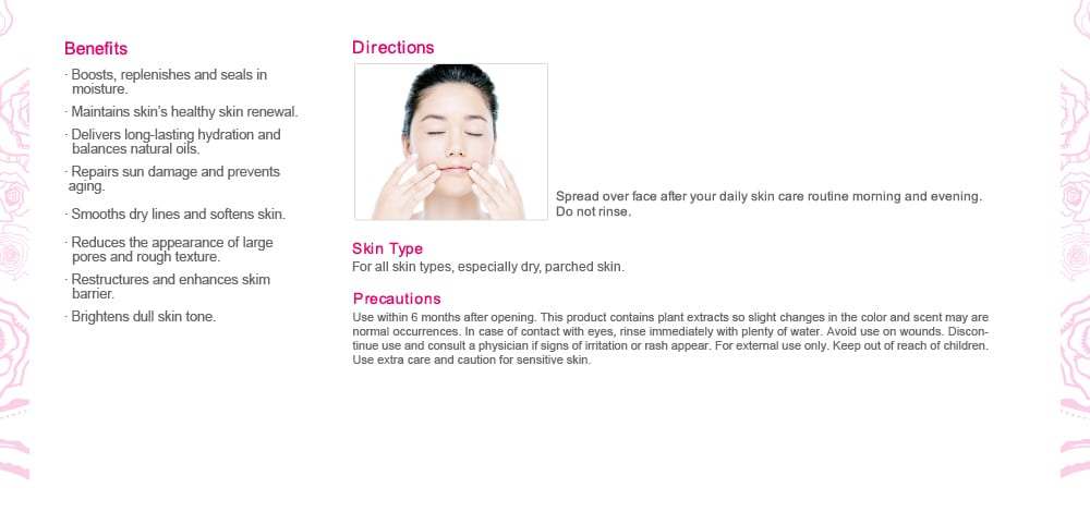 Super Hydrating Night Gelly - Benefits and direction