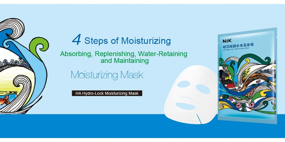 HA Hydro-Lock Moisturizing Mask - Introduction