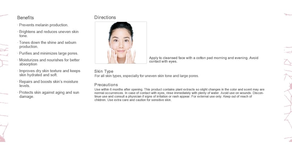 Pore Minimizing & Brightening Moisturizer - Benefits and directions
