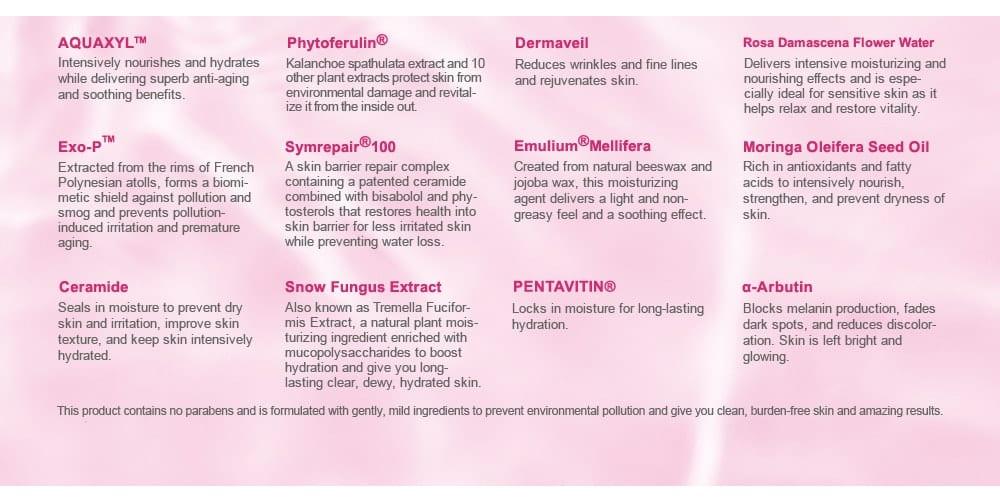 Super Hydrating Moisturizer - Ingredients
