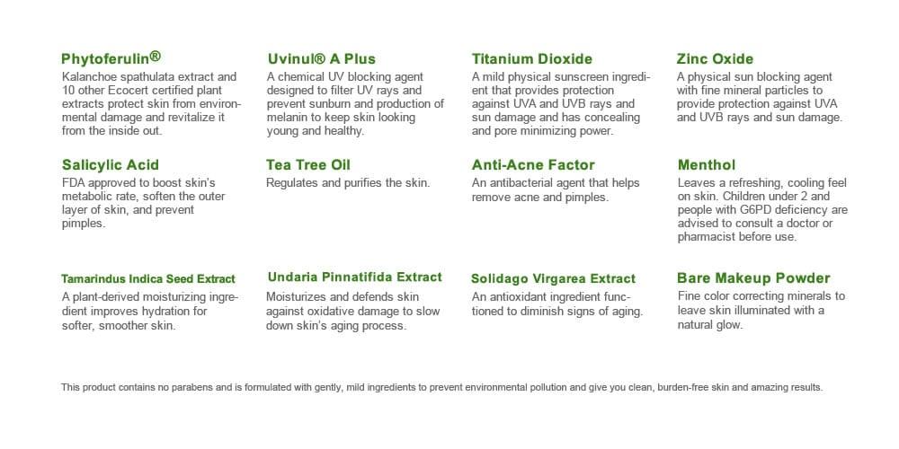 Naruko Tea Tree Anti-Acne Sunscreen SPF50★★★ - details