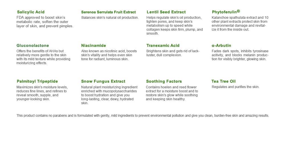 Naruko Tea Tree Shine Control & Blemish Clear Serum - details
