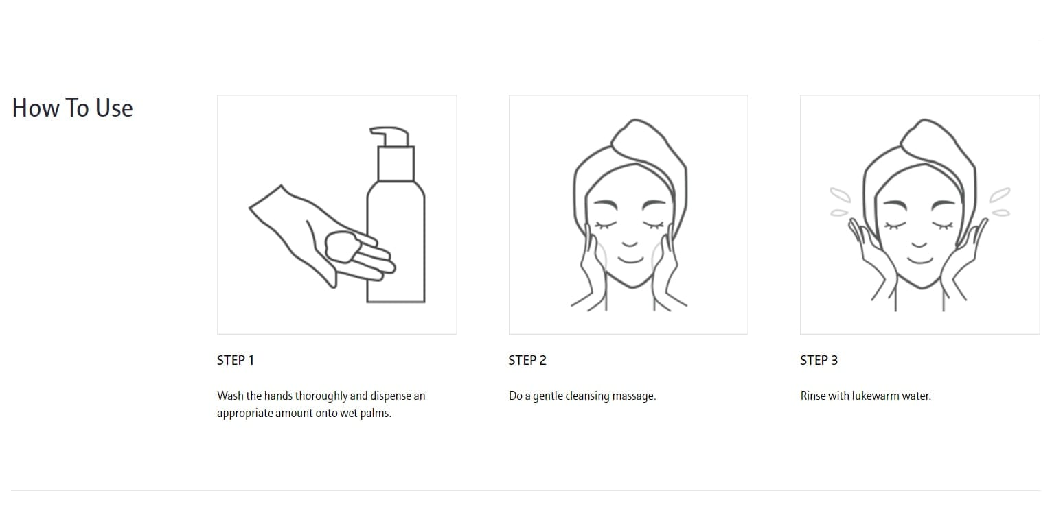 Laneige Fresh Calming Gel Cleanser - how to use