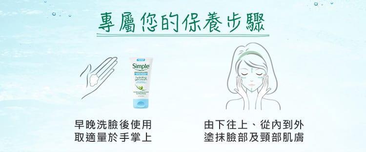 Hydrating Gel Cream - Usage