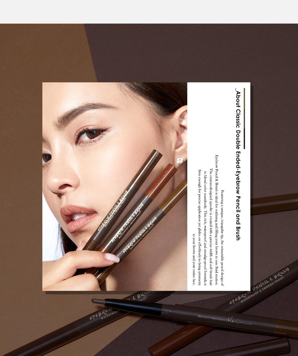 Eyebrow Pencil & Brush - Looks