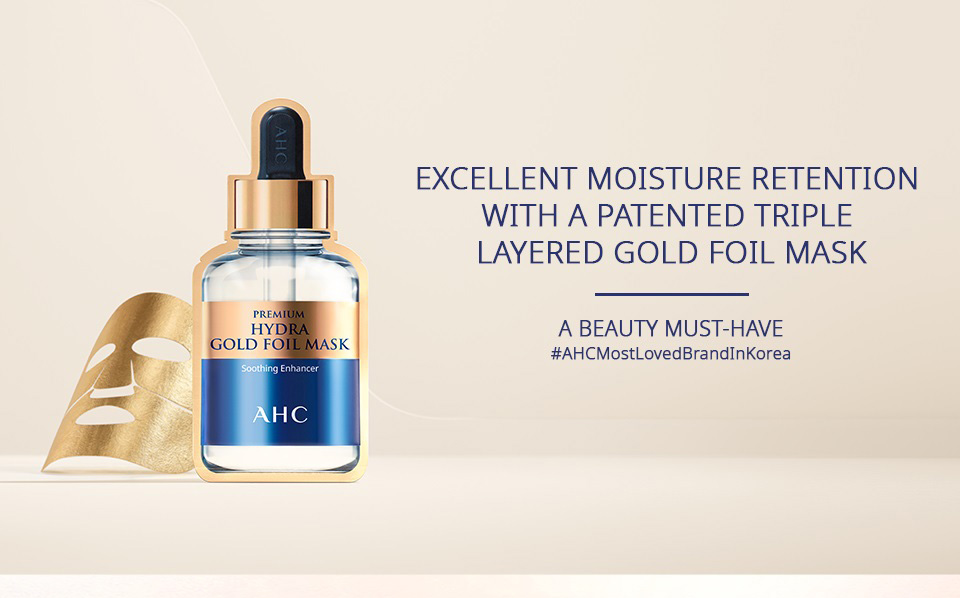 AHC Premium Hydra Gold Foil Mask - Introduction