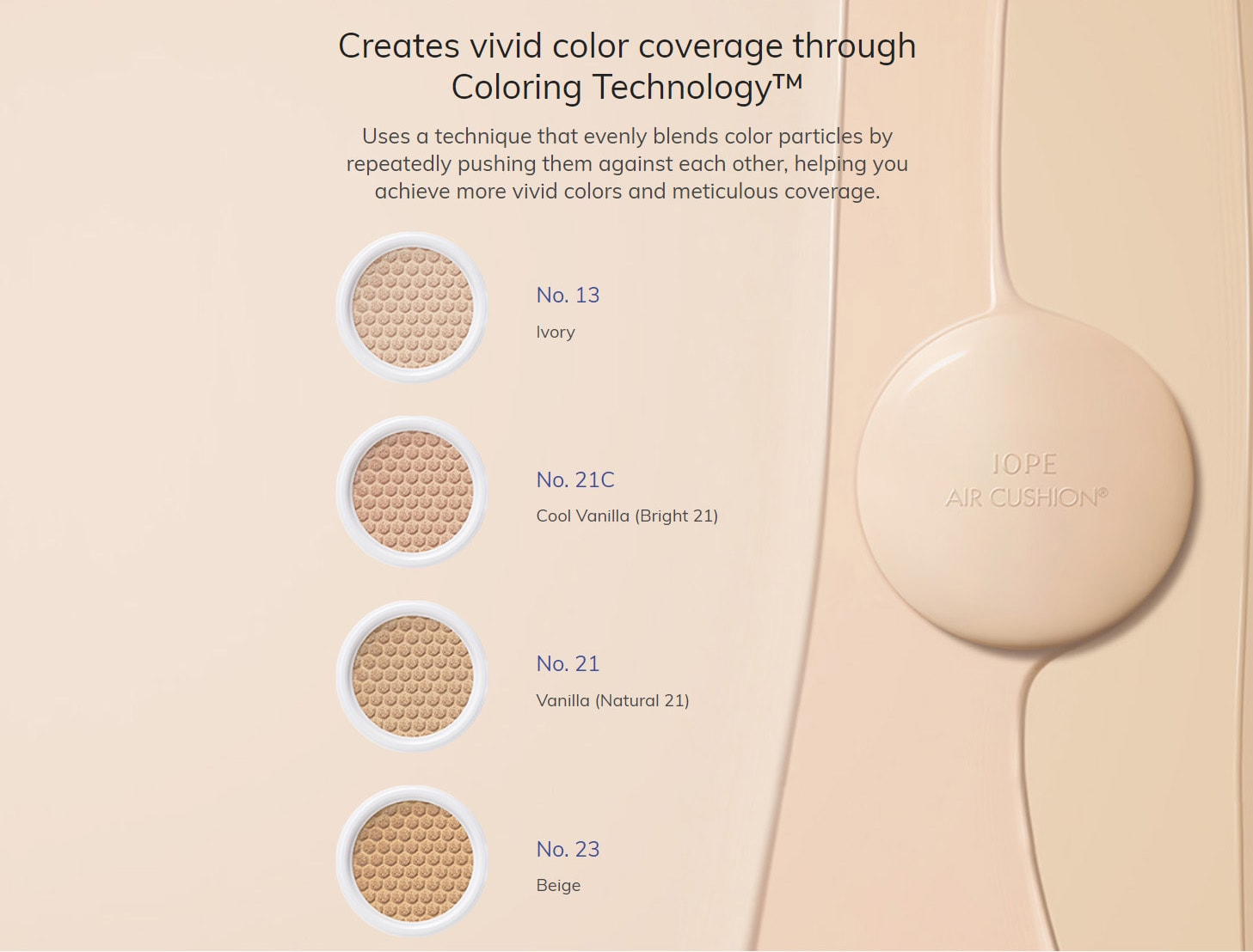 IOPE Air Cushion Cover - Colors