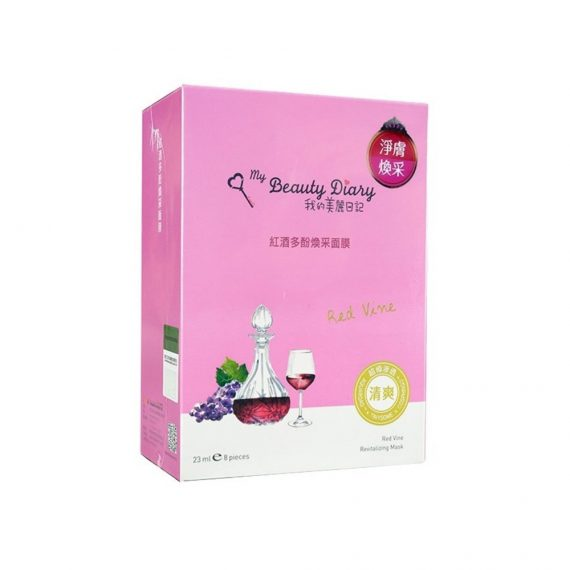 Red Vine Revitalizing Mask -Display Image