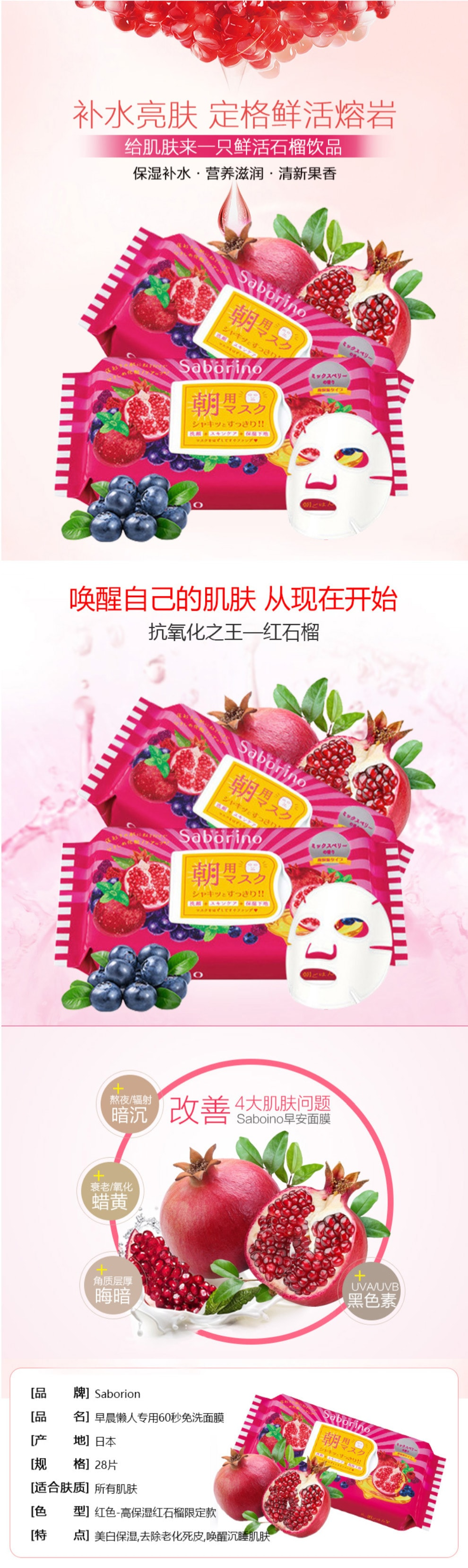 Morning Face Mask Pomegranate - Introduction