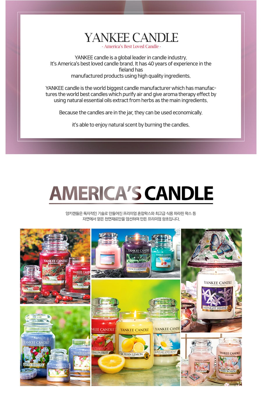Jar Candles Mandarin Cranberry - Candle Introduction