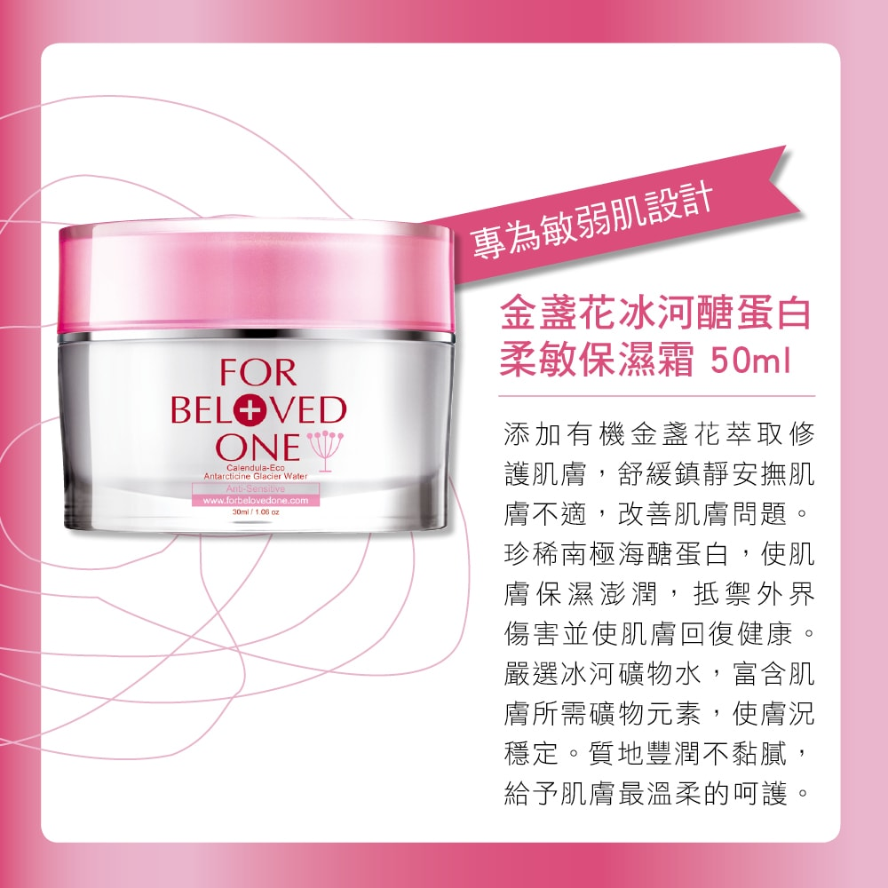 Anti-Sensitive Moisturizing Cream-Series-Introduction