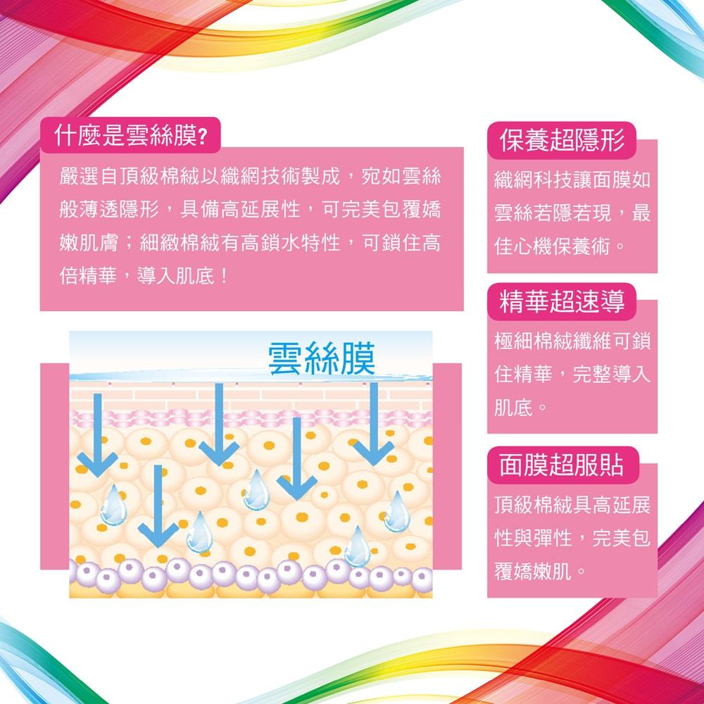 Vitamin B Cloud-Silk Mask-Mask Details