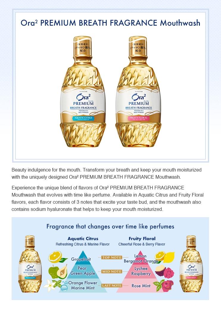 Fragrance Mouthwash Aquatic Citrus-Details