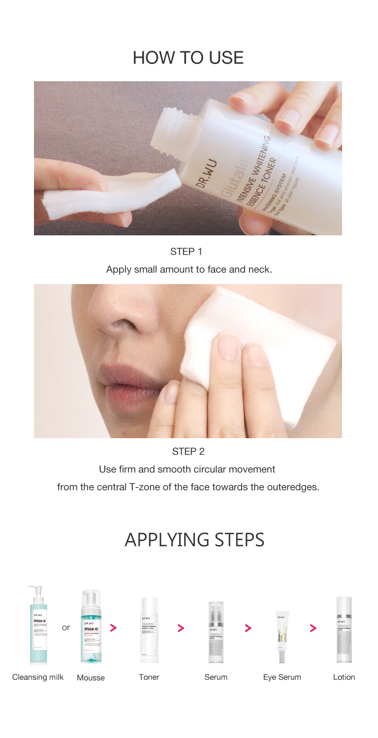 Intensive Whitening Essence Toner-How to use