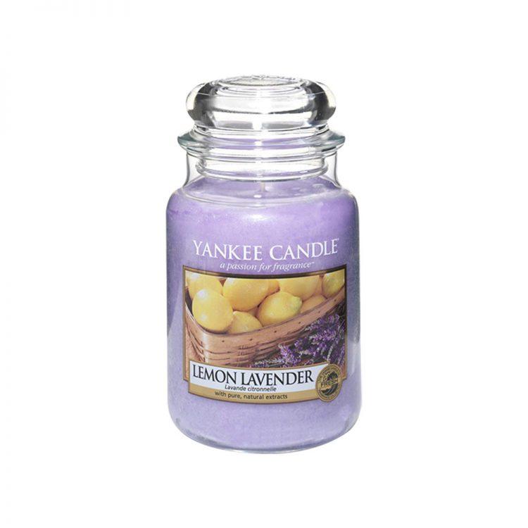 Jar Candles Lemon Lavender - Display Image
