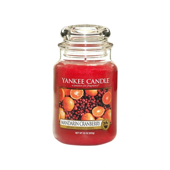 Jar Candles Mandarin Cranberry - Display Image