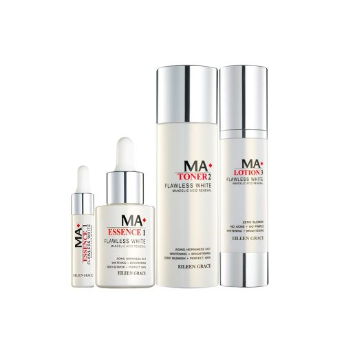 Eileen Grace MA+ Flawless White Mandelic Acid Renewal Series Set (Free Renewal Essence 5ml) photo review