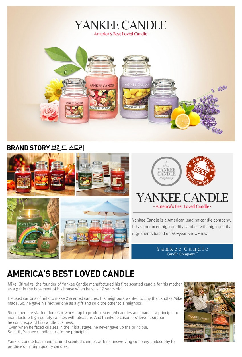 Large Jar Candles - Brand Story
