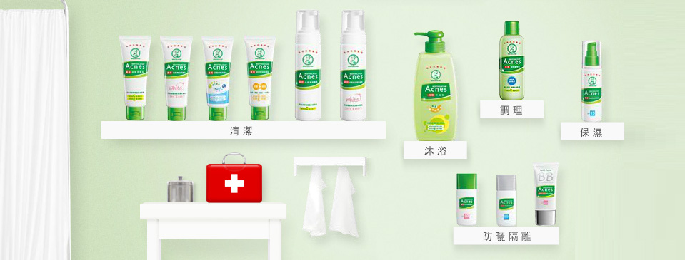 Acnes Medicated Body Wash - Series