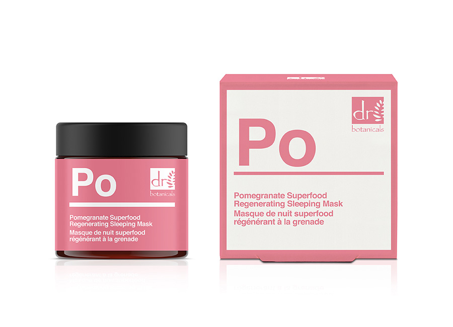 Pomegranate Regenerating Sleeping Mask - Packaging
