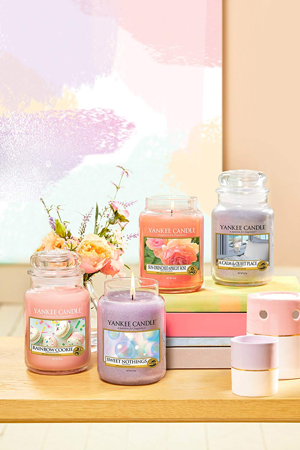 Jar Candles Sweet Nothings - Packaging