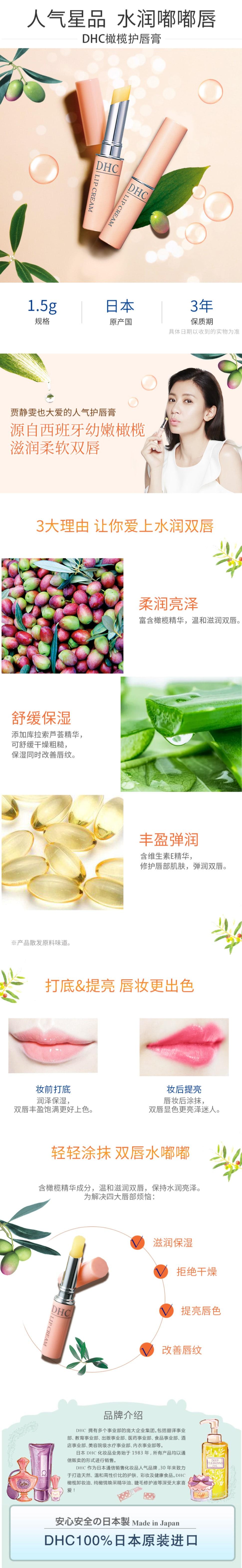 DHC Lip Cream - Introduction
