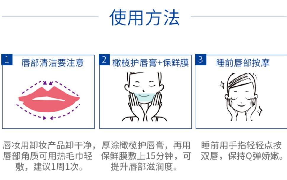 DHC Lip Cream - Usage