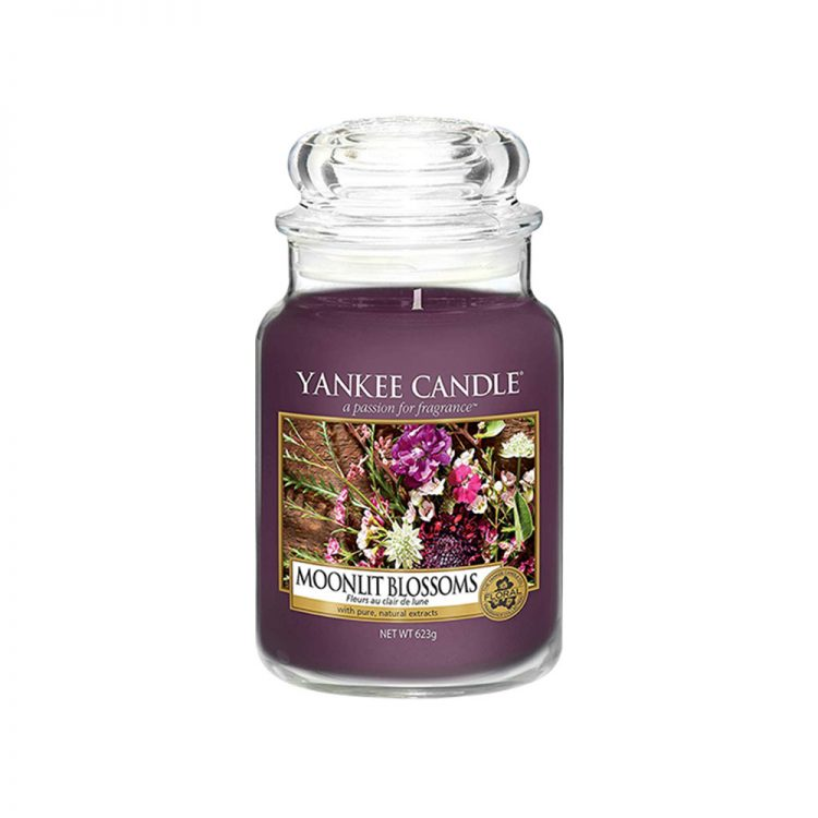 Jar Candles Moonlit Blossoms - Display Image