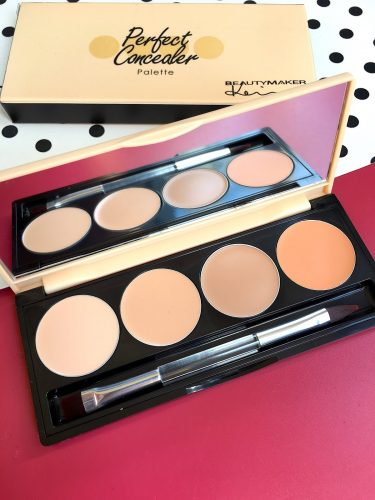 BeautyMaker Perfect Concealer Palette photo review