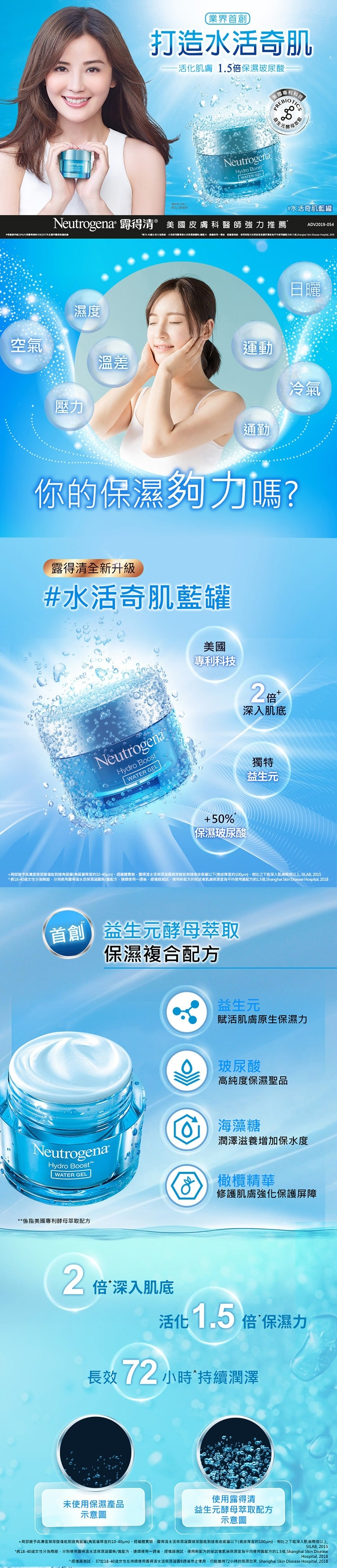 Hydro Boost Water Gel - Info