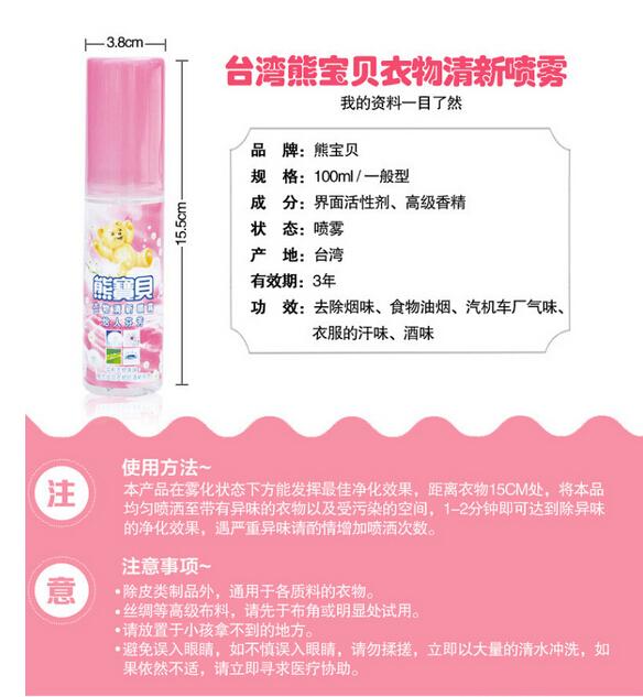 Natural Herbs Spray - Description