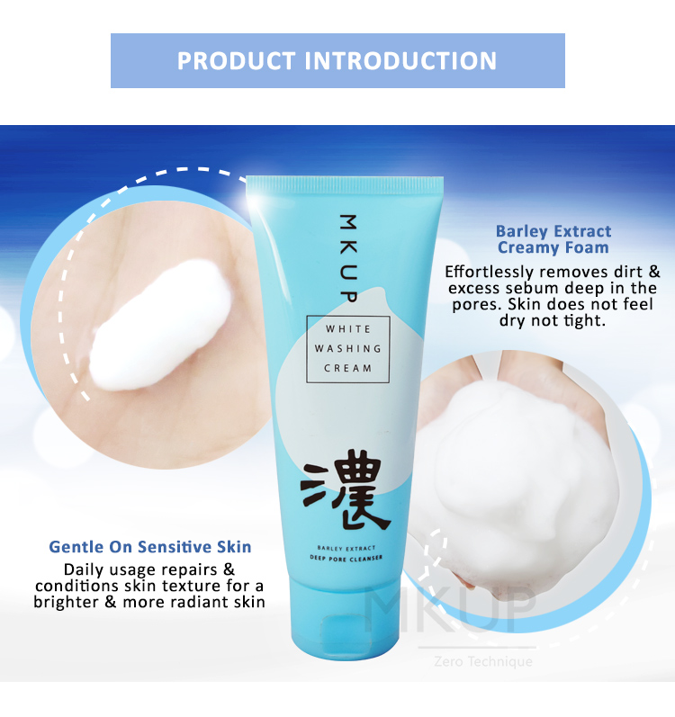 Barley Extract Cleansing Foam-Intro