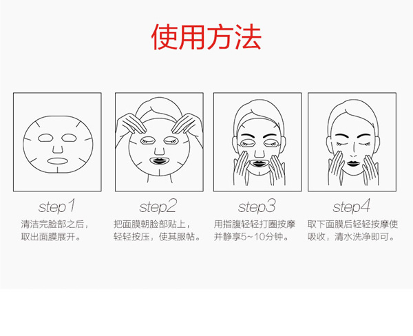 Rice Face Mask - How to use
