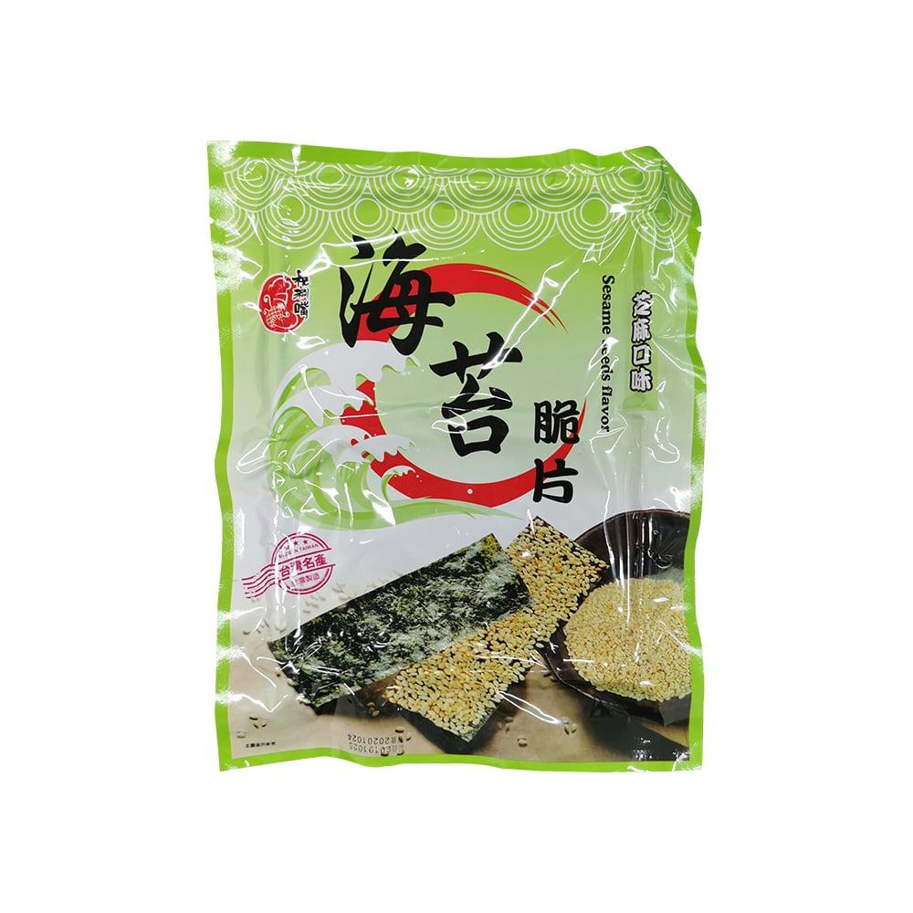Taiwan Seaweed Chips Sesame - Packaging Front