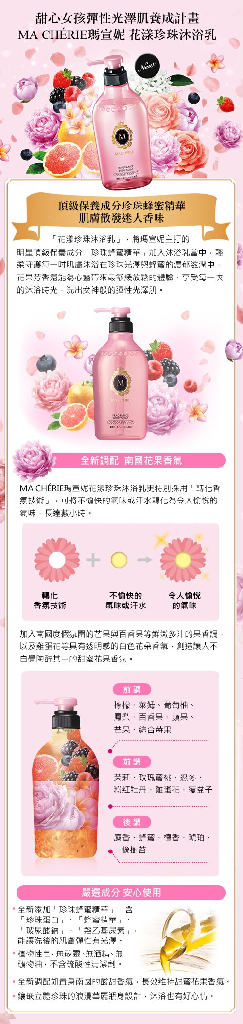 Ma Cherie Travel Set - Body soap