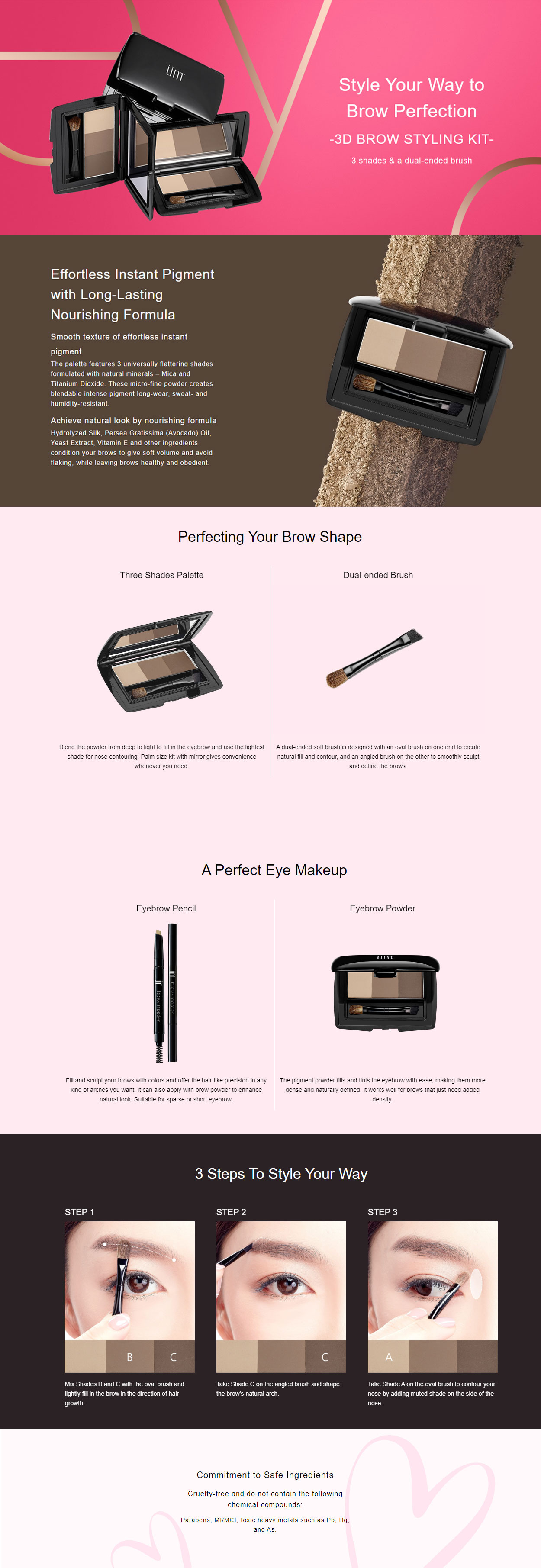 3D Brows Styling Kit -Intro