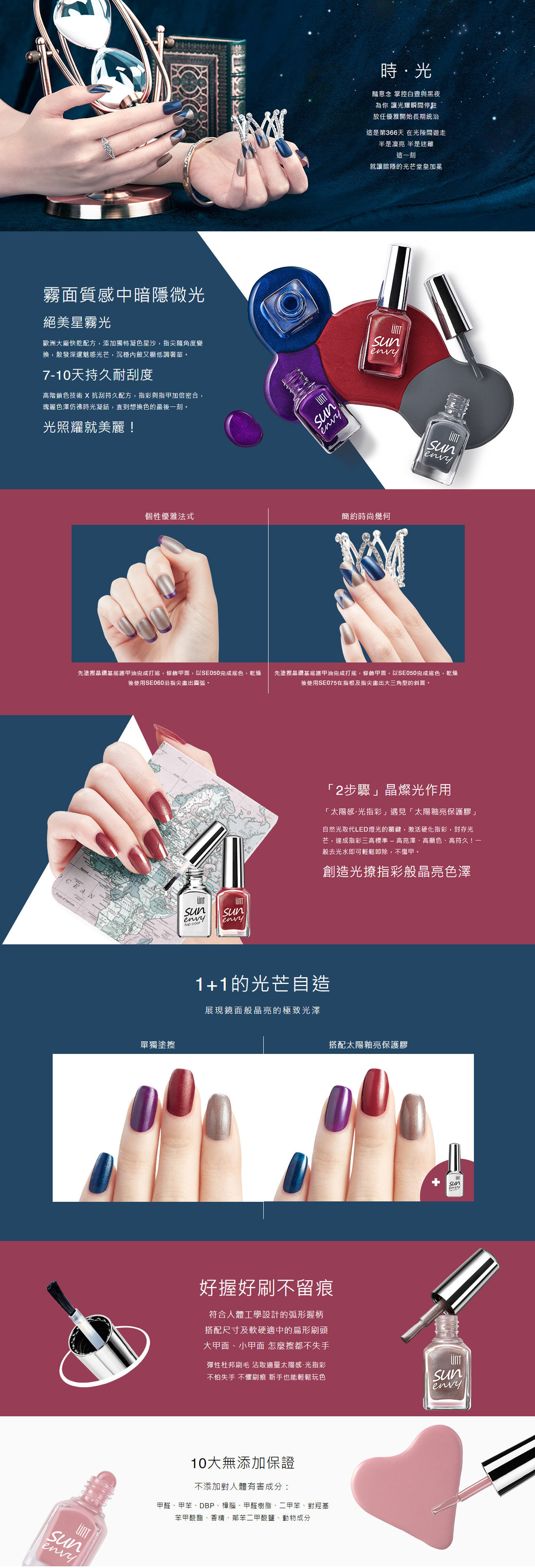 Time Gel Nail Polish - Info