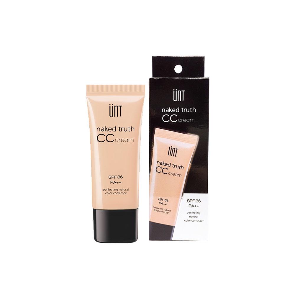 NAKED TRUTH CC CREAM | UNT Cosmetics