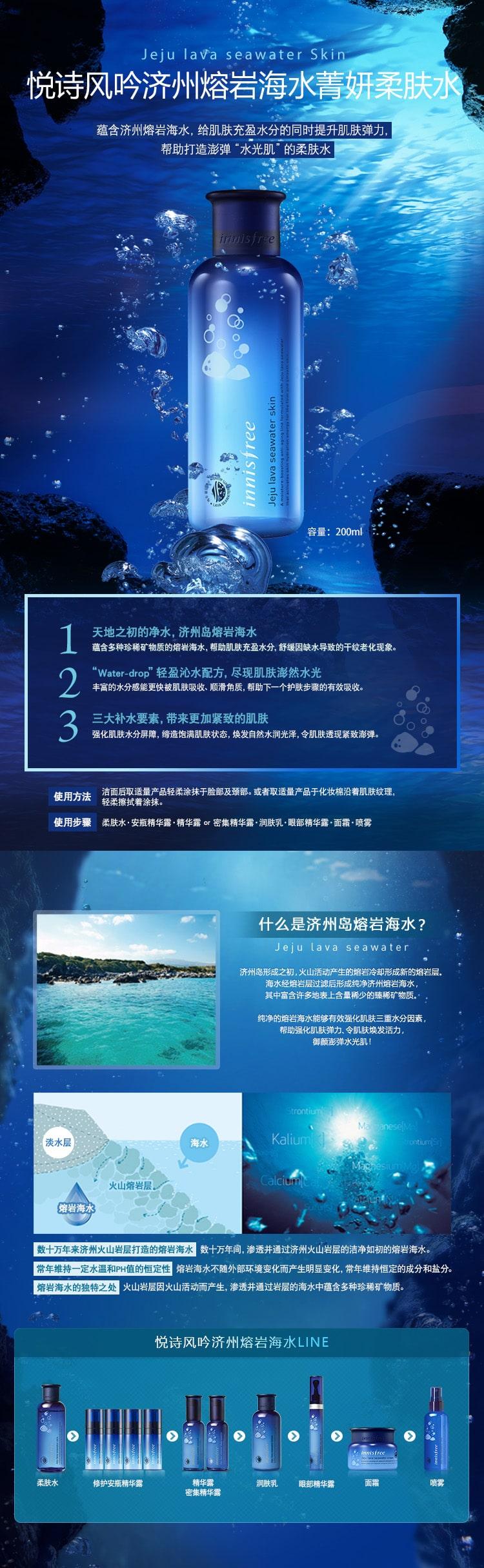 Jeju Lava Seawater Skin - Intro