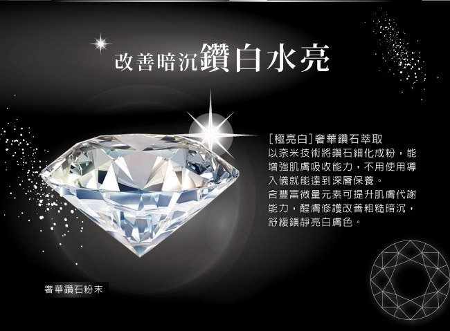 Black Diamond Hydration Mask - Ingredient