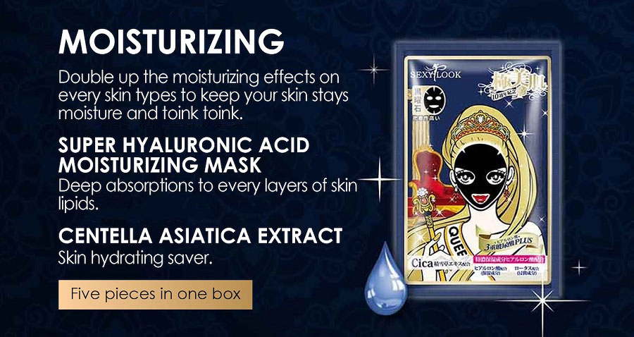 Extreme Moisturizing Black Mask - Moisturizing Mask