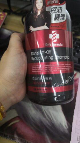 Dr's Formula Dandruff-off Recuperating Shampoo - Green Tea Mint 580g photo review