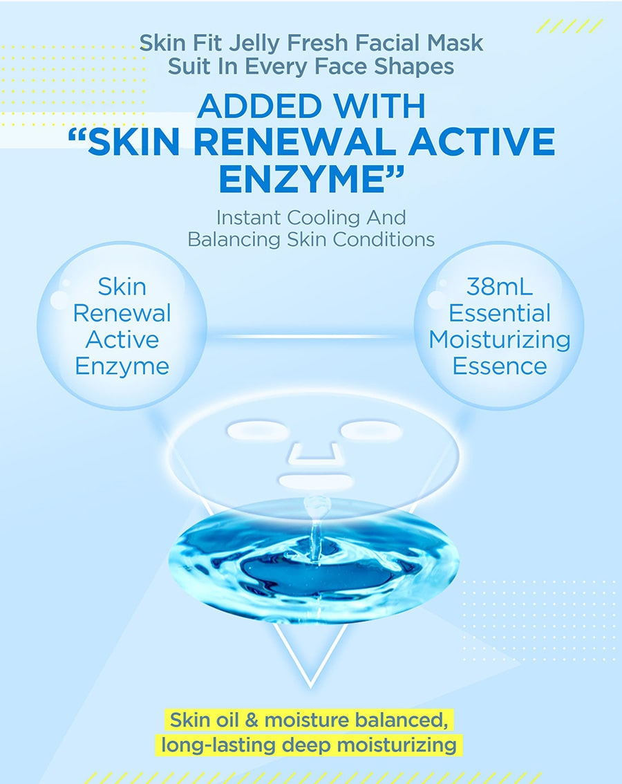 Cool Jelly Mask - Enzyme