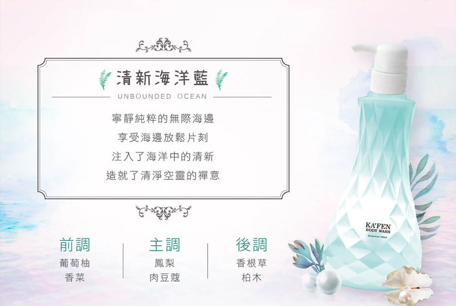 Perfume Body Wash - Ocean