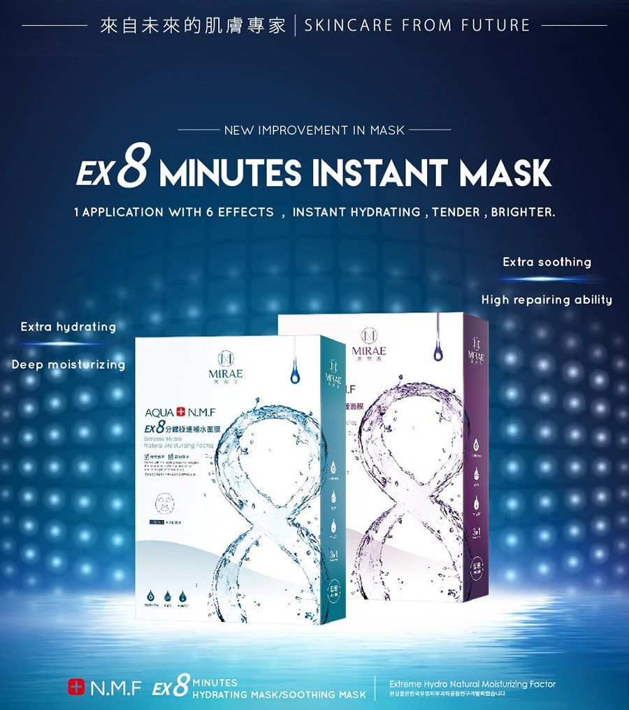 EX8-Minutes Soothing Mask - Intro