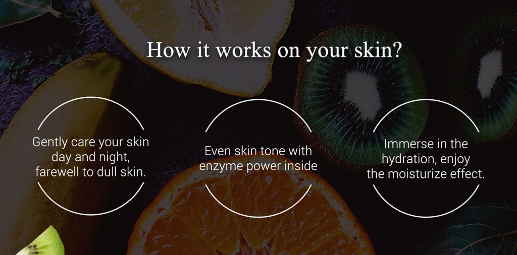Enzyme Intensive Anti-acne Mask - How it works