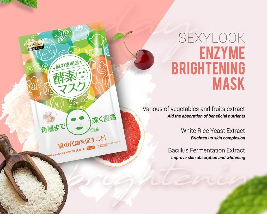 Enzyme Moisturizing Mask - Brightening Mask